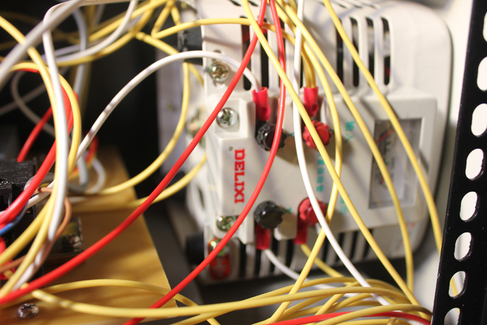 LDQ-2细节德力西电机